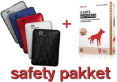 Safety pakket : 1TB backup schijf + GRATIS G-Data AntiVirus