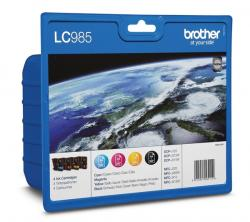 Brother LC-985 Value Pack BCMY